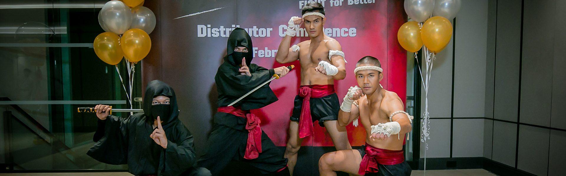 Muay thai+Ninja