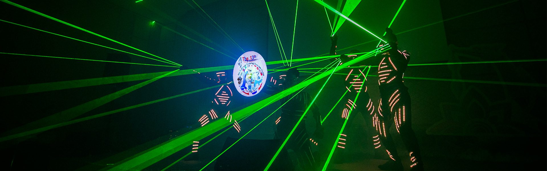 Neon Dance and Laser Show